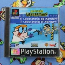 Videojuegos y Consolas: PLAY STATION PS1 PSX DEXTER'S LABORATORY EL LABORATORIO DE MANDARK PAL ESPAÑA. Lote 270565013