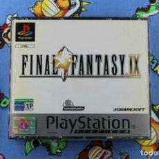 Videojuegos y Consolas: PLAY STATION PSX PS1 FINAL FANTASY IX 9 PLATINUM MUY BUEN ESTADO PAL ESPAÑA. Lote 270565893