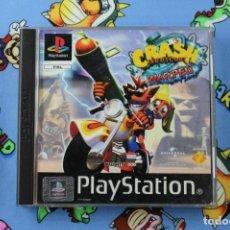Videojuegos y Consolas: PLAY STATION PS1 PSX CRASH BANDICOOT 3 WARPED MUY BUEN ESTADO PAL ESPAÑA. Lote 270566808