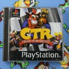 Videojuegos y Consolas: PLAY STATION PS1 PSX CTR CRASH TEAM RACING BUEN ESTADO PAL ESPAÑA. Lote 270567093