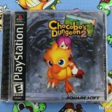 Videojuegos y Consolas: PLAY STATION PS1 PSX CHOCOBO'S DUNGEON 2 MUY BUEN ESTADO NTSC USA. Lote 270568143