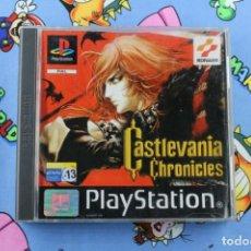 Videojuegos y Consolas: PLAY STATION PS1 PSX CASTLEVANIA CHRONICLES BUEN ESTADO PAL ESPAÑA. Lote 270568353