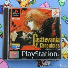 Videojuegos y Consolas: PLAY STATION PS1 PSX CASTLEVANIA CHRONICLES MUY BUEN ESTADO PAL ESPAÑA. Lote 270568718