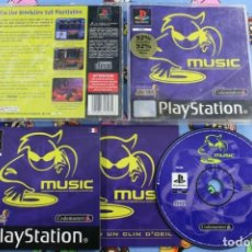 Videojuegos y Consolas: PLAY STATION PS1 PSX MUSIC BUEN ESTADO PAL FRANCIA. Lote 270572543