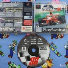 Videojuegos y Consolas: PLAY STATION PS1 PSX FORMULA ONE 1 98 SIN MANUAL PAL ESPAÑA. Lote 270572633