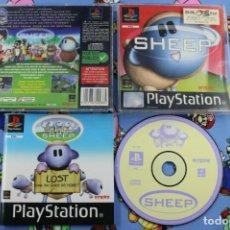 Videojuegos y Consolas: PLAY STATION PS1 PSX SHEEP BUEN ESTADO PAL FRANCIA. Lote 270572828