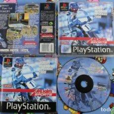 Videojuegos y Consolas: PLAY STATION PS1 PSX JEREMY MCGRATH SUPERCROSS 2000 BUEN ESTADO PAL ESPAÑA. Lote 270572918