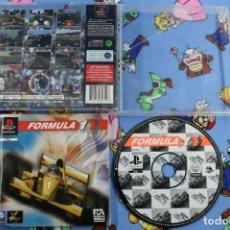 Videojuegos y Consolas: PLAY STATION PS1 PSX FORMULA ONE SIN CARATULA PAL ESPAÑA. Lote 270573188