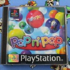 Videojuegos y Consolas: PLAY STATION PS1 PSX POP N' AND POP MUY BUEN ESTADO PAL ESPAÑA / EUROPA. Lote 270954258