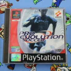 Videojuegos y Consolas: PLAY STATION PS1 PSX PRO EVOLUTION SOCCER MUY BUEN ESTADO PAL ESPAÑA. Lote 270955018