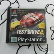 Videojuegos y Consolas: PLAY STATION PS1 PSX TEST DRIVE 4 MUY BUEN ESTADO PAL ESPAÑA. Lote 270973168