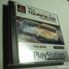 Videojuegos y Consolas: PS1 TOURING CAR CHAMPIONSHIP. CON DISCO Y MANUAL (BUEN ESTADO). Lote 272499998
