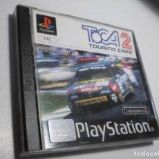Videojuegos y Consolas: PS1 TOCA 2 TOURING CARS CON DISCO Y MANUAL (BUEN ESTADO). Lote 272717973