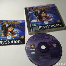 Videojuegos y Consolas: HARRY POTTER Y LA PIEDRA FILOSOFAL ( PLAYSTATION 1 - PS1 - PAL - ESPAÑA). Lote 274001488
