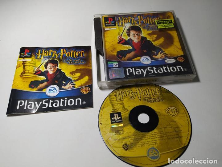 HARRY POTTER Y LA CAMARA SECRETA ( PLAYSTATION 1 - PS1 - PAL - ESPAÑA) (Juguetes - Videojuegos y Consolas - Sony - PS1)
