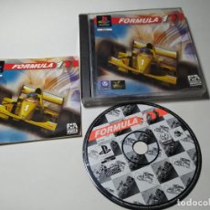 Videojuegos y Consolas: FORMULA ONE ( PLAYSTATION 1 - PS1 - PAL - ESPAÑA). Lote 274001638