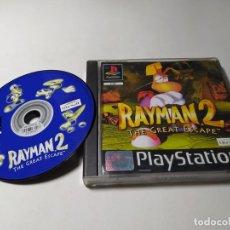 Videojuegos y Consolas: RAYMAN 2 ( PLAYSTATION 1 - PS1 - PAL - ESPAÑA). Lote 274001928