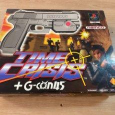 Videogiochi e Consoli: PISTOLA JUEGO TIME CRISIS PS1 CON CAJA ORIGINAL Y CABLES. Lote 275489703