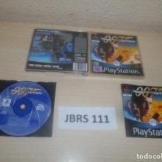 Videojuegos y Consolas: PS1 - 007 EL MUNDO NUNCA ES SUFICIENTE , PAL ESPAÑOL , COMPLETO. Lote 275935973