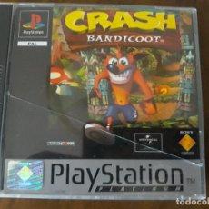 Videojuegos y Consolas: PS1 CRASH BANDICOOT PLATINUM COMPLETO. Lote 276072943