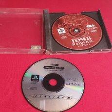 Videojuegos y Consolas: 2 JUEGO TOMB RAIDER II Y III SIN PROBAR. Lote 276135298