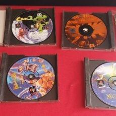 Videojuegos y Consolas: LOTE DE 4 JUEGOS PLAYSTATION SIN PROBAR. Lote 276135773