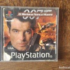 Videojuegos y Consolas: 007 JAMES BOND EL MAÑANA NUNCA MUERE - PSX PLAYSTION 1 PAL -. Lote 276358873