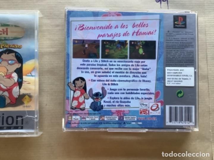 Videojuegos y Consolas: LILO & STICH EN PROBLEMAS EN EL PARAÍSO PSX play station - Foto 2 - 277229128