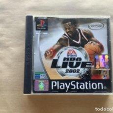 Videojuegos y Consolas: NBA LIVE 2002 PSX PLAY STATION. Lote 277229518