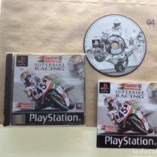 Videojuegos y Consolas: CASTROL HONDA SUPERBIKE RACING PSX PLAY STATION. Lote 277247348