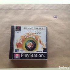 Videojuegos y Consolas: ROLAND GARROS 2001. PSX PLAY STATION. Lote 277253818