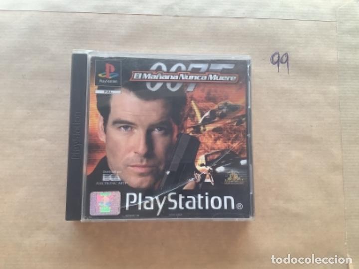 007 EL MAÑANA NUNCA MUERE. PSX PLAY STATION (Juguetes - Videojuegos y Consolas - Sony - PS1)