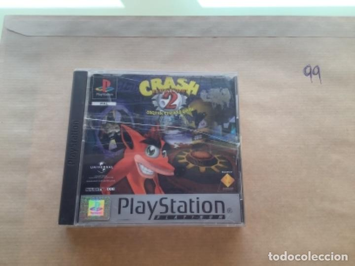 CRASH BANDICOOT 2. . PSX PLAY STATION VER FOTOS (Juguetes - Videojuegos y Consolas - Sony - PS1)
