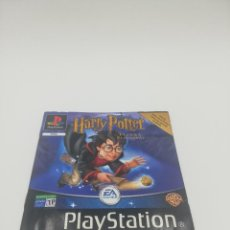 Videojuegos y Consolas: HARRY POTTER Y LA PIEDRA FILOSOFAL MANUAL PS1. Lote 277520978
