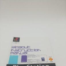 Videojuegos y Consolas: WIPEOUT MANUAL PS1. Lote 277521128