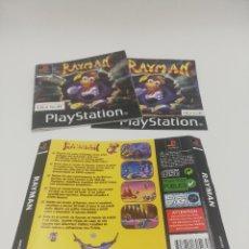Videojuegos y Consolas: RAYMAN MANUAL Y CARATULAS PS1. Lote 277521433