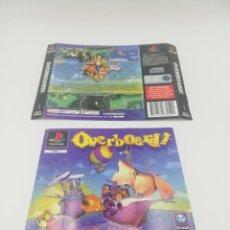 Videojuegos y Consolas: OVERBOARD CARATULAS PS1. Lote 277521573