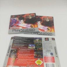 Videojuegos y Consolas: TEKKEN 3 MANUAL Y CARATULAS PS1. Lote 277521828