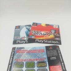Videojuegos y Consolas: PRO EVOLUTION SOCCER 2 MANUAL Y CARATULAS PS1. Lote 277522963