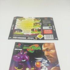 Videojuegos y Consolas: SPACE JAM CARATULAS PS1. Lote 277523108