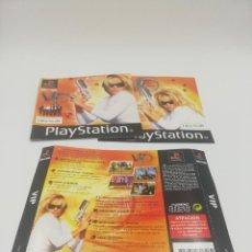 Videojuegos y Consolas: VIP MANUAL Y CARATULAS PS1. Lote 277523558