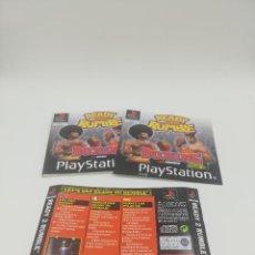 Videojuegos y Consolas: READY RUMBLE 2 MANUAL Y CARATULAS PS1. Lote 277524628