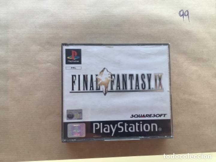 FINAL FANTASY IX. SIN MANUAL PSX PLAY STATION (Juguetes - Videojuegos y Consolas - Sony - PS1)