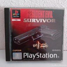 Videojuegos y Consolas: RESIDENT EVIL SURVIVOR PS1 PAL COMPLETO. Lote 277633713