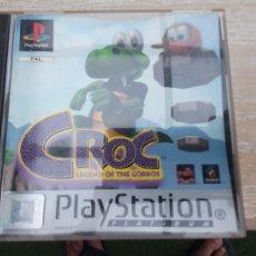 Videojuegos y Consolas: JUEGO PSX CROC LEGEND OF THE GOBBOS. Lote 277838143