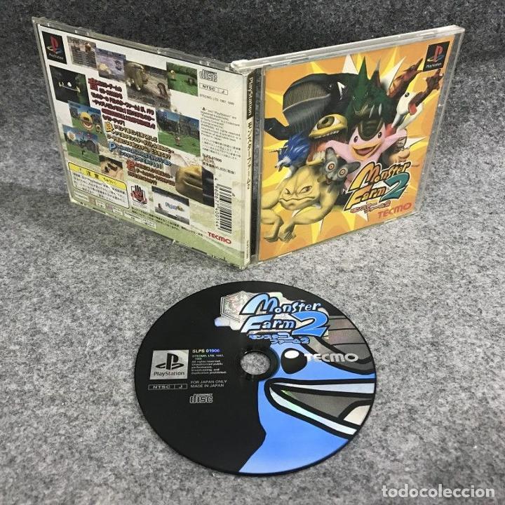 MONSTER FARM 2 JAP SONY PLAYSTATION PS1 (Juguetes - Videojuegos y Consolas - Sony - PS1)