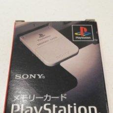 Videojuegos y Consolas: TARJETA MEMORIA ORIGINAL PS1 SONY CAJA JAPONESA #2 SCPH-1020. Lote 279572593
