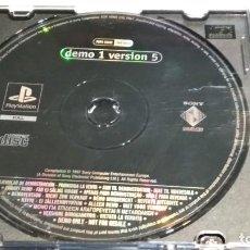 Videojuegos y Consolas: PLAYSTATION ( DEMO 1 VERSION 5 ) 1997 SONY - RARO. Lote 282174263