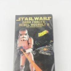 Videojuegos y Consolas: STAR WARS DARK FORCES REBEL ASSAULT II VHS PS1 NUEVA PRECINTADA. Lote 297160543