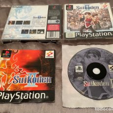 Videojuegos y Consolas: SUIKODEN 2 - PAL ESP - COMPLETO - PS1 PSX - KONAMI II RPG EN CASTELLANO. Lote 286751163
